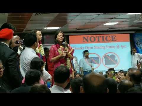 Mr. Dharmendra and Meenakshi Rana - Amway India - Dwarka Meet_Oct_8_2017_Sunday_Evening