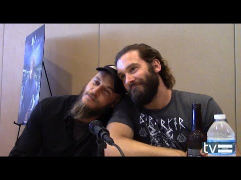 Vikings Season 3: Travis Fimmel & Clive Standen