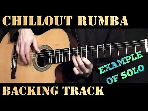 Spanish Guitar Gipsy Latin Rumba Backing Track