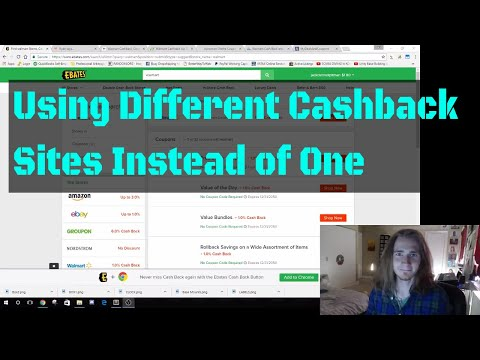 Drop Shipping eBay  -I'm Going To Start Using Multiple Cashback Websites