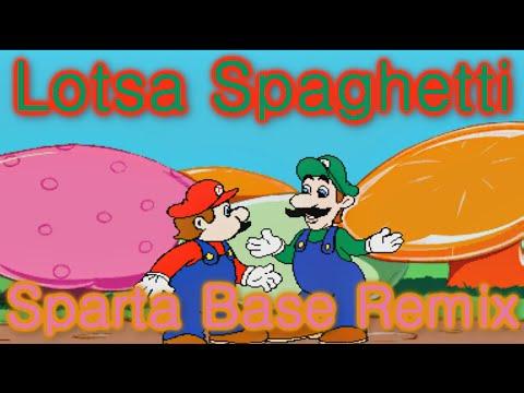 "[Hotel Mario] Luigi: ""Lots-a Spaghetti!"" [Sparta Base Mix]"