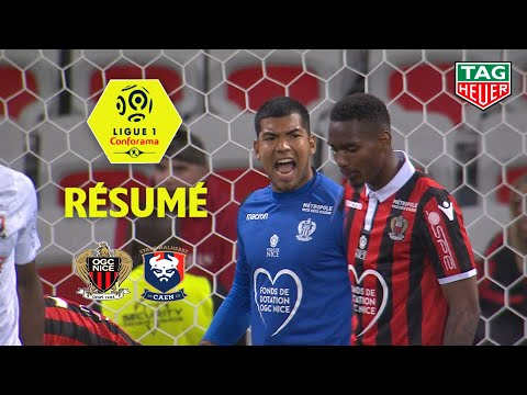 OGC Nice - SM Caen ( 0-1 ) - Résumé - (OGCN - SMC) / 2018-19