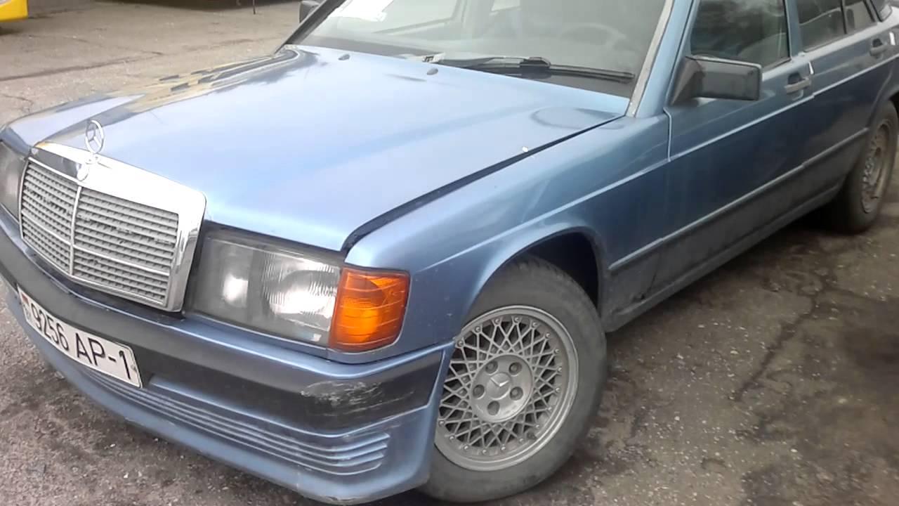Цены б/у АвтоКонфискат Март 2016г. Mersedes Benz 190/1989, 2,5D.
