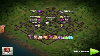Clash of Clans (COC) TH11 Rush Base to Master League III