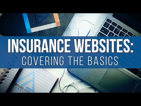 Insurance Websites: Covering The Basics