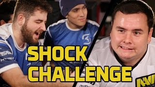 SK vs. Na`Vi (Pt. 1): Shock Challenge - HyperX Moments