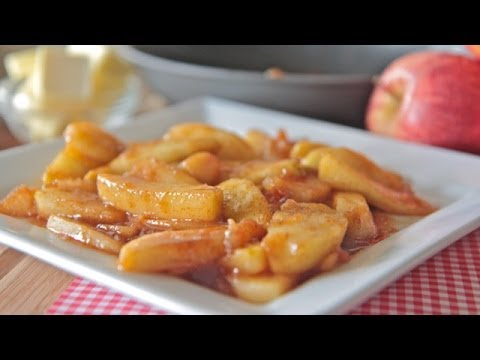 Southern Fried Apples Recipe ~ Just like grandma's!