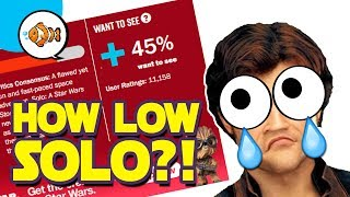 SOLO: How LOW Will Rotten Tomatoes Score Go?! | Star Wars News