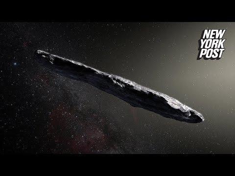 Crazy Russian billionaire believes cigar-shaped comet is alien spacecraft | New York Post