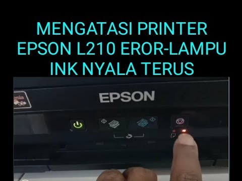 handle printer can not print, Epson L120 reset.