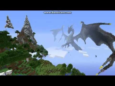 Minecraft Best Map Ever Dragon Pixel Art Youtube