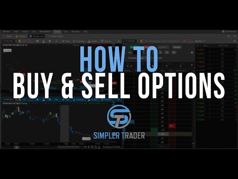 How To Buy And Sell Options - ThinkOrswim Tutorial