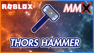GETTING THOR'S HAMMER IN ROBLOX MMX! | Digging Diamonds (New Series)