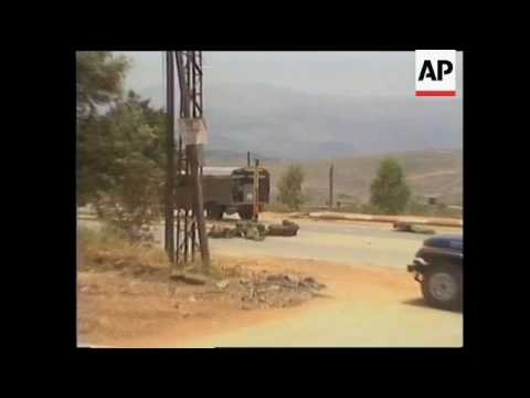 Israel - Hezbollah Roadside Bombing