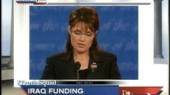 NBC, Corke- Palin Fact Check on Obama Troop Funding