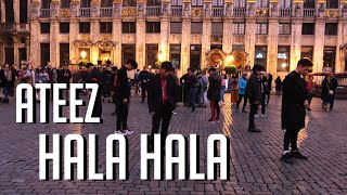 [KPOP IN PUBLIC CHALLENGE] ATEEZ - 'Hala Hala' Dance cover by The Aim from Belgium