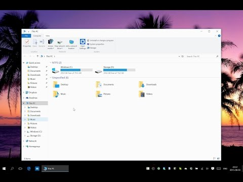 How to pin My Computer to Taskbar in Windows 10