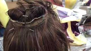 Ремонт перуки, міняємо маківку
