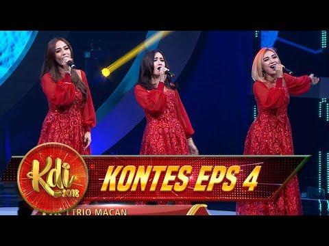 Goyang Asyik! Trio Macan Memukau Seluruh Penonton KDI [EDAN TURUN] - Kontes KDI Eps 4 (9/8)