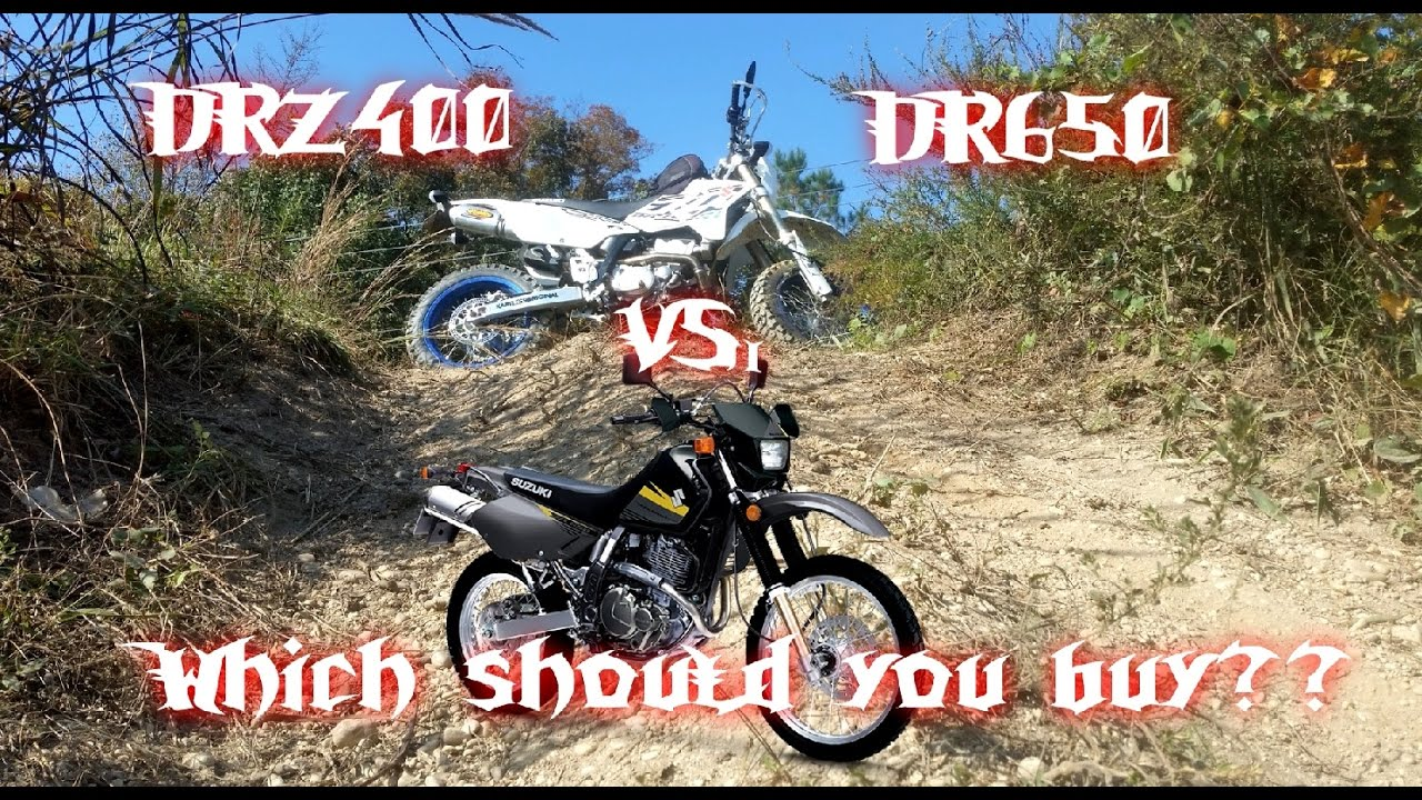 DRZ400SM or S vs DR650 Which Should You Buy? 2017 Review