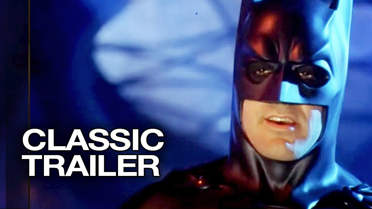 Batman Robin 1997 Official Trailer 1 George Clooney Movie Hd Youtube