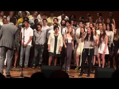 The Ebony Singers of Wesleyan University