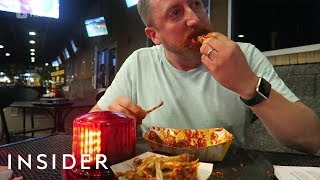 Buffalo Wild Wings' Famous Blazin' Wing Challenge Must Be Completed In 6 Minutes Video