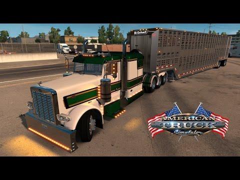 American Truck Simulator - Cattle run to Redding