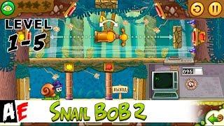 Snail Bob 2 LEVEL 1-5 Островная история