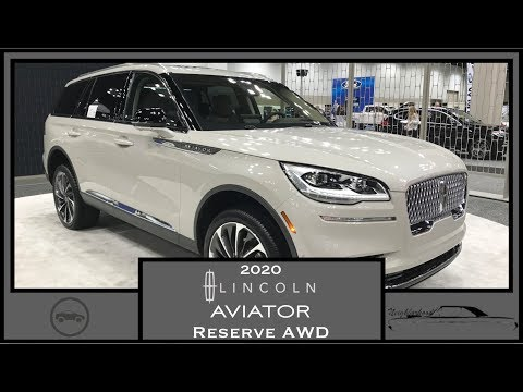2020 Lincoln Aviator Reserve AWD|First Look|Walk Around Video|Vehicle Review