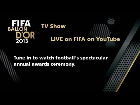 REPLAY: FIFA Ballon d'Or Ceremony 2013 TV