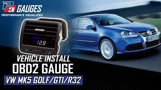 VW Mk5 Multi-Gauge Install | P3 Gauges