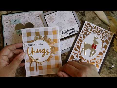 How to make a quick and easy card using...