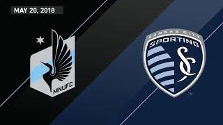 HIGHLIGHTS: Minnesota United FC vs. Sporting Kansas City | May 20, 2018