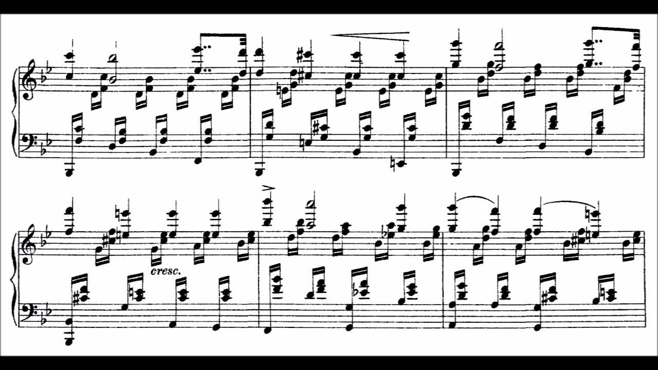 Etude Un Sospiro, in D-flat Major, No. 3 from Trois études de concert