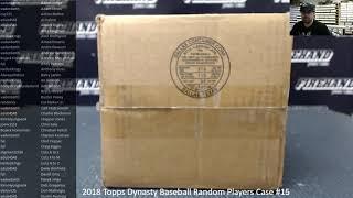 12/12/2018 2018 Topps Dynasty Baseball Random Players Case #15