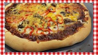 Texas Style BBQ Brisket Pizza