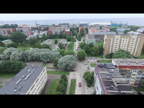 Лиепая с высоты 2016 Liepaja