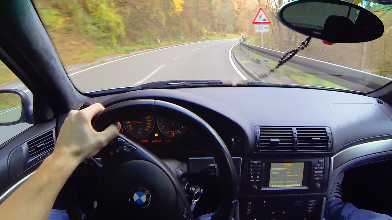 Bmw M5 E39 Onboard Pov Drive In The Mountains Acceleration