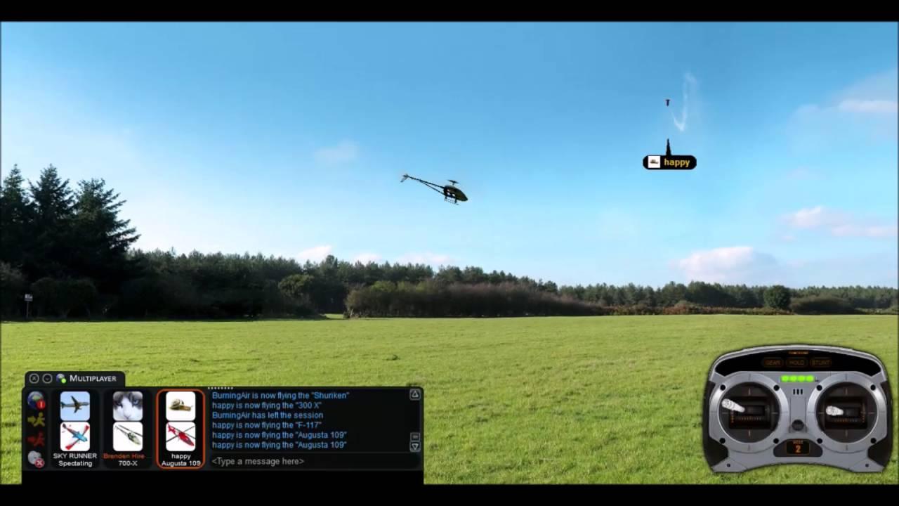 Phoenix RC Flight Simulator 5 5 1  Music 3D Flying #1