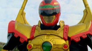 Power Rangers Operation Overdrive - Red Sentinel Ranger Battlizer Morph and Fight (Things Not Said) thumbnail