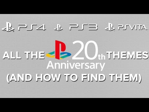 All the Playstation 20th Anniversary themes (And how to find them) - Eurogamer Mp3