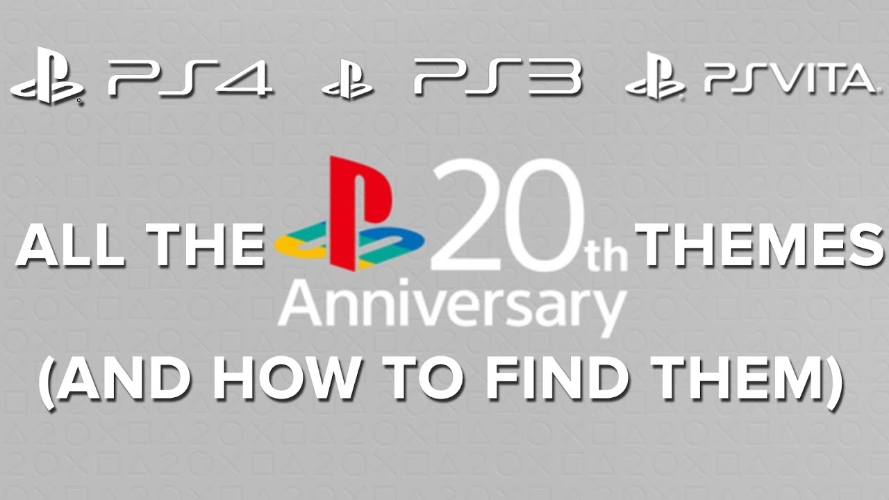 Sony releases free PS1 theme for PS4, PS3 and Vita • Eurogamer net