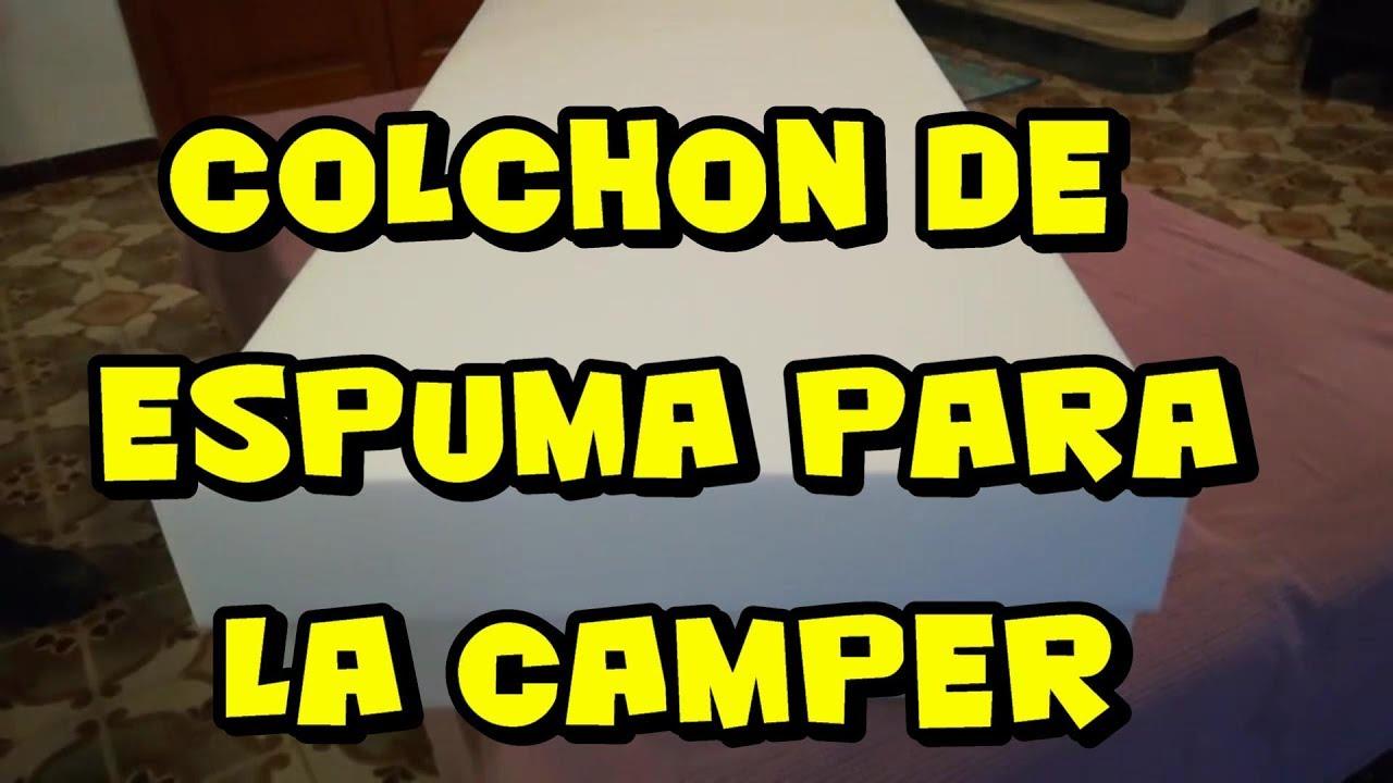 Colchones Para Camper.Foam Mattress For Camper Autocaravan 03
