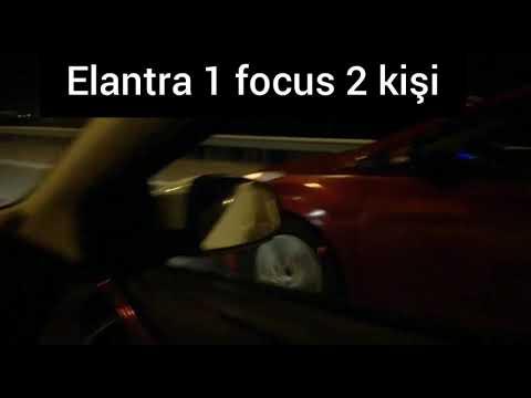 Ford Focus  1.6 125 Hp Vs Elantra 1.6 132 Hp + Egzos