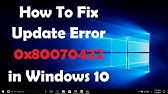 How To Fix Windows Firewall Error 0x80070422 In Windows 10 - YouTube