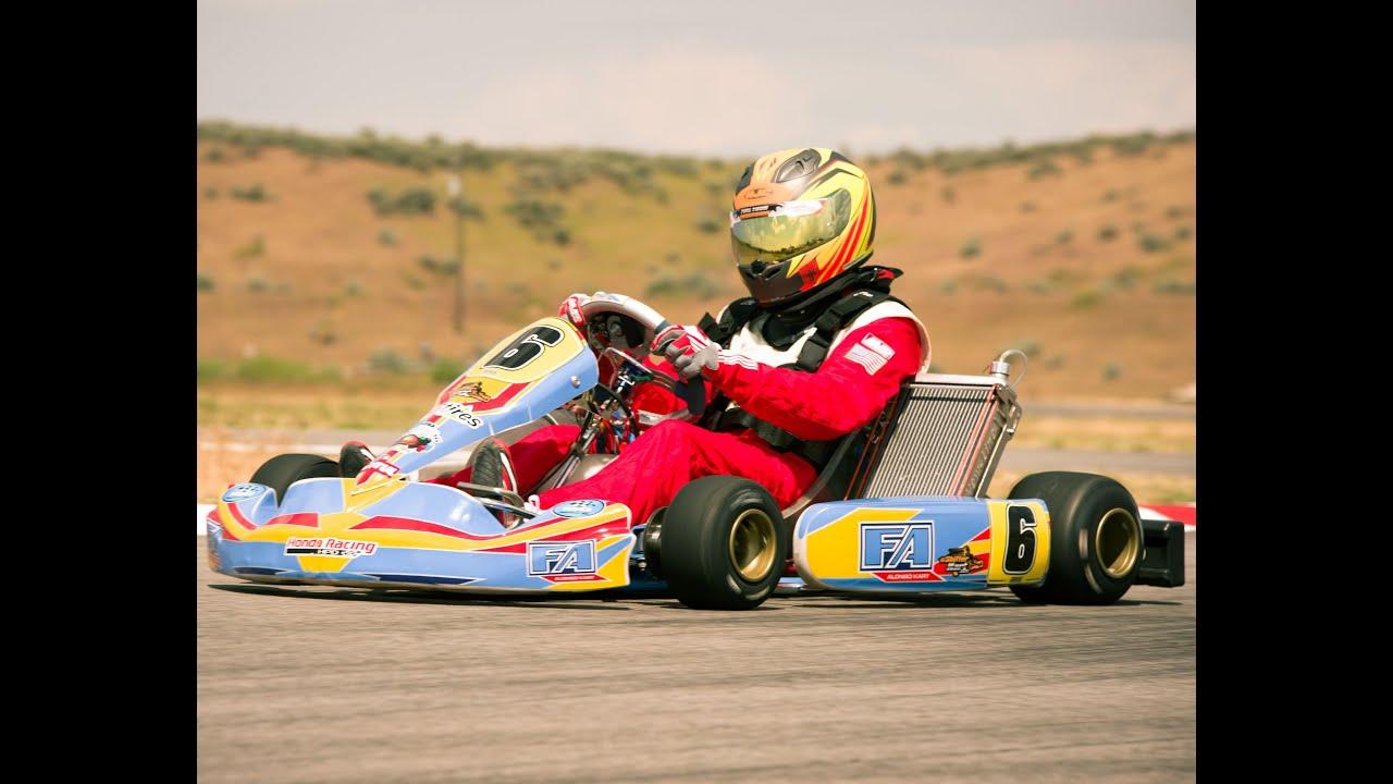 Fa Tony Kart Otk 01 Mrc Stock Honda Shifter At Ikf Nw Gold Cup Eshifterkart
