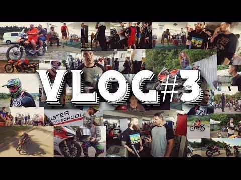 Влог Пауэрлифтинг RAW 100% Тест драйв мотоцикла GEON Grandtour