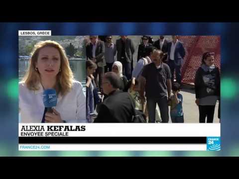 Europe: le pape François ramène à Rome 12 réfugiés Syriens de Lesbos