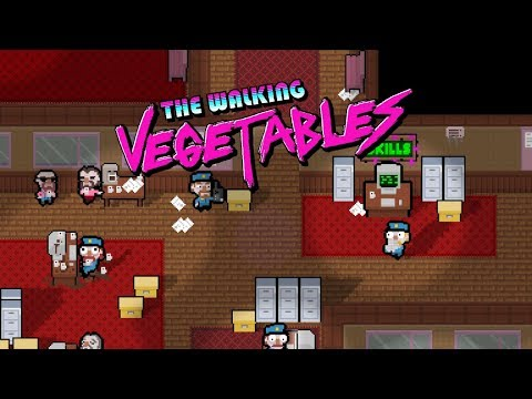 Big Anime Onion Eyes   The Walking Vegetables (Gameplay / Let's Play)  